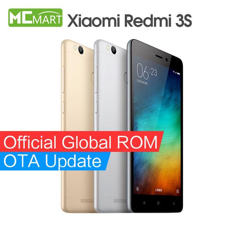 Xiaomi Redmi 3S  Pro Prime Redmi3s 4G FDD smartphone 5.0Inch Snapdragon 430 Fingerprint ID phones [Affiliate]