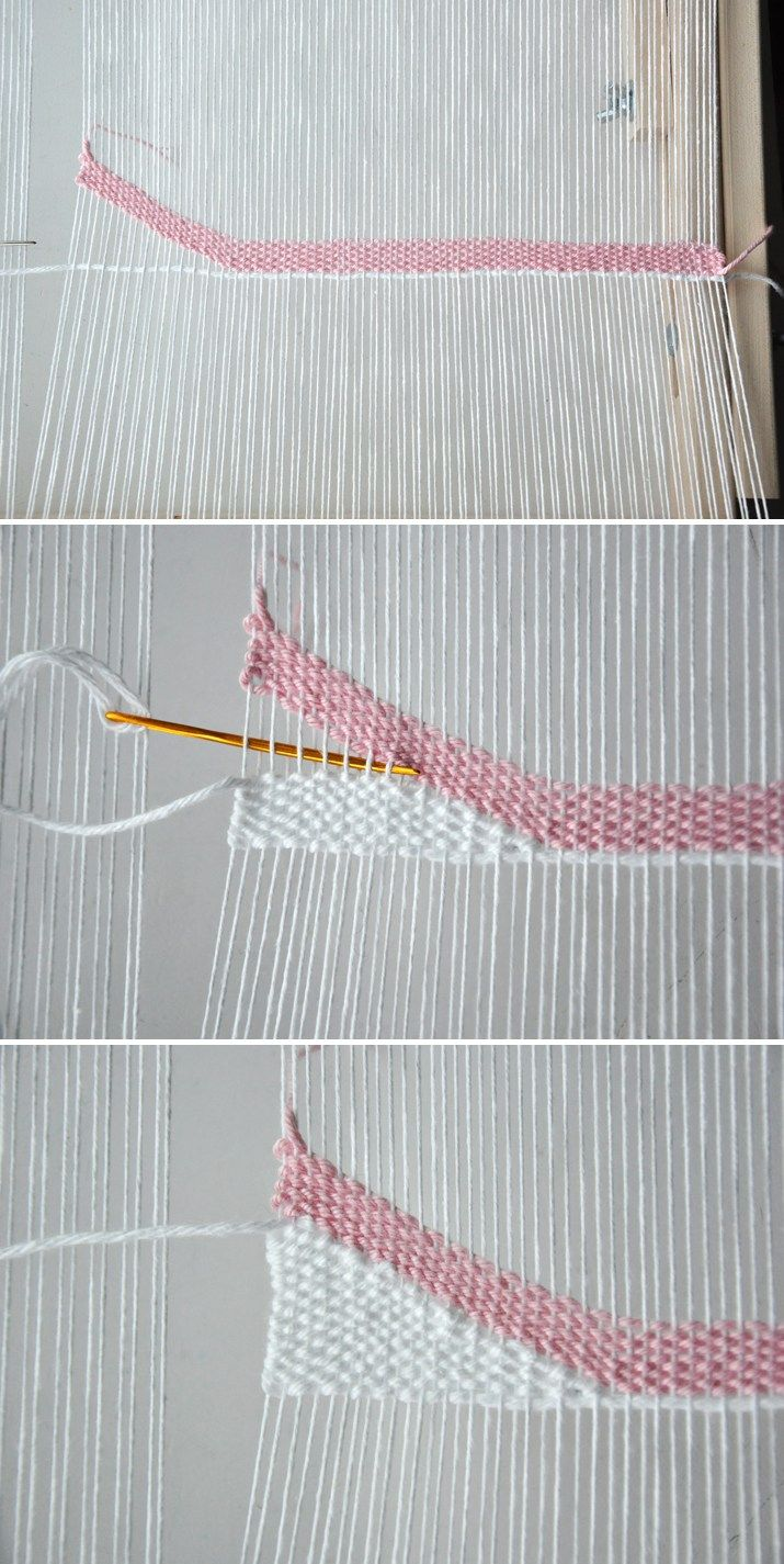 How to Weave Angles & Waves    The Weaving Loom
