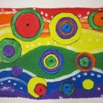 new take on kandinsky--lovelyFourth Grade, Art Blog, Eye Paths, Circles Painting, Elementary Art, Georgetown Elementary, Kandinsky Projects, Art Projects, Grade Kandinsky