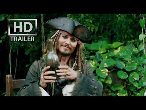 Pirates of the Caribbean 4 : On Stranger Tides | [HD] OFFICIAL trailer #1 US (2011) 3D Johnny Depp - YouTube