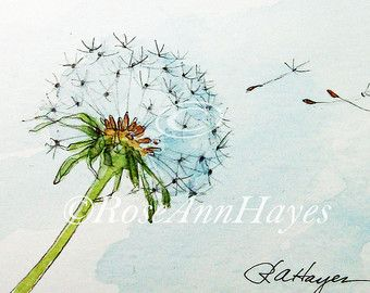 This is a print of my watercolor painting of one of my favorite wildflowers, the…