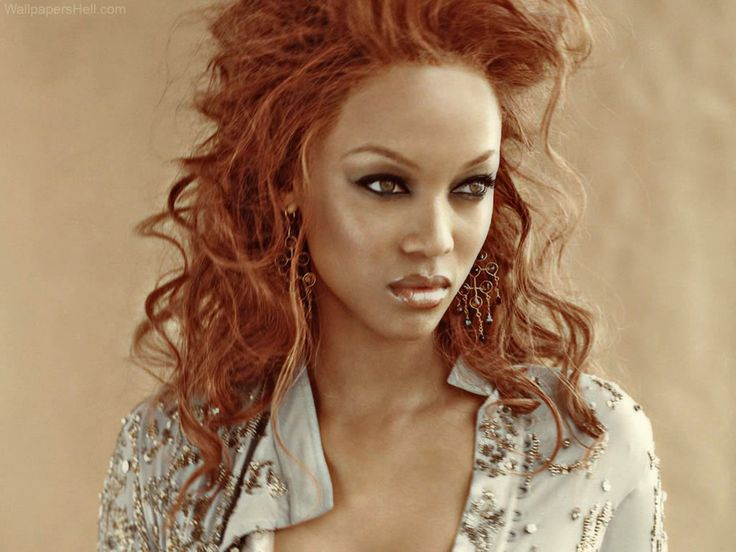 Actress and model Tyra Banks ... classy american Hairstyles...
