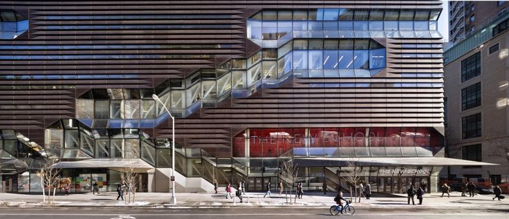 University Center, The New School / Skidmore Owings and Merrill © James Ewing