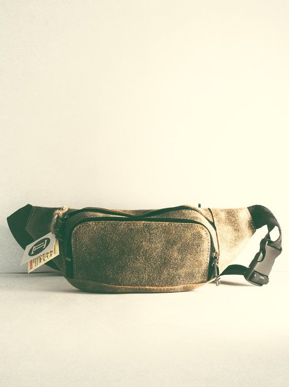 "Unisex Fanny Pack. Exclusive designer Hip bag manufactured with love by ""Tropaeis Leather"".  This modern Fanny Pack is made of high-quality"