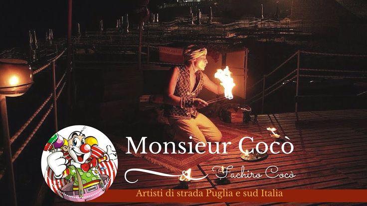 Monsieur Cocò - Fachiro - Artisti di strada Puglia e Sud Italia