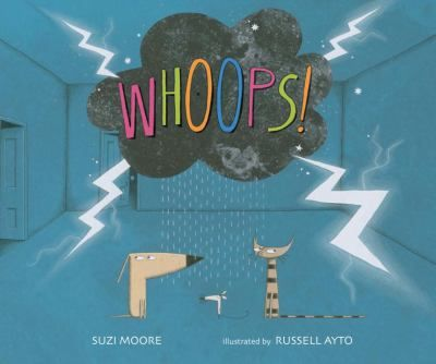 Whoops! Suzi Moore. Three pets who can't find their voices visit an old lady in the woods with a spell that will help them, but when the spell goes awry, there are chaotic consequences.