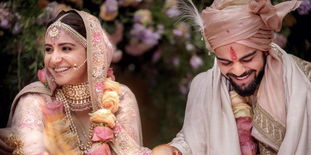 Actress Anushka Sharma and Indian Cricketer Virat Kohli Got Married in Italy on Monday. Wish You Happy Married Life!!!!! #AnushkaSharma #ViratKohli #StarsMarriage #StarsWedding #ViratWedsAnushka #ChennaiUngalKaiyil