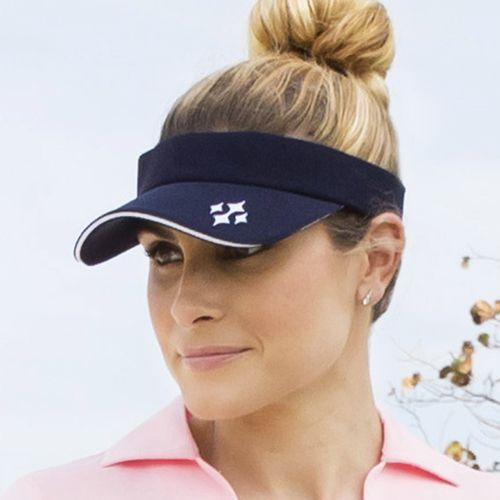 Check out our Midnight Navy JoFit Ladies Golf/Tennis Jo Visor! Find the best Golf Accessories at #lorisgolfshoppe Click through to own this visor!
