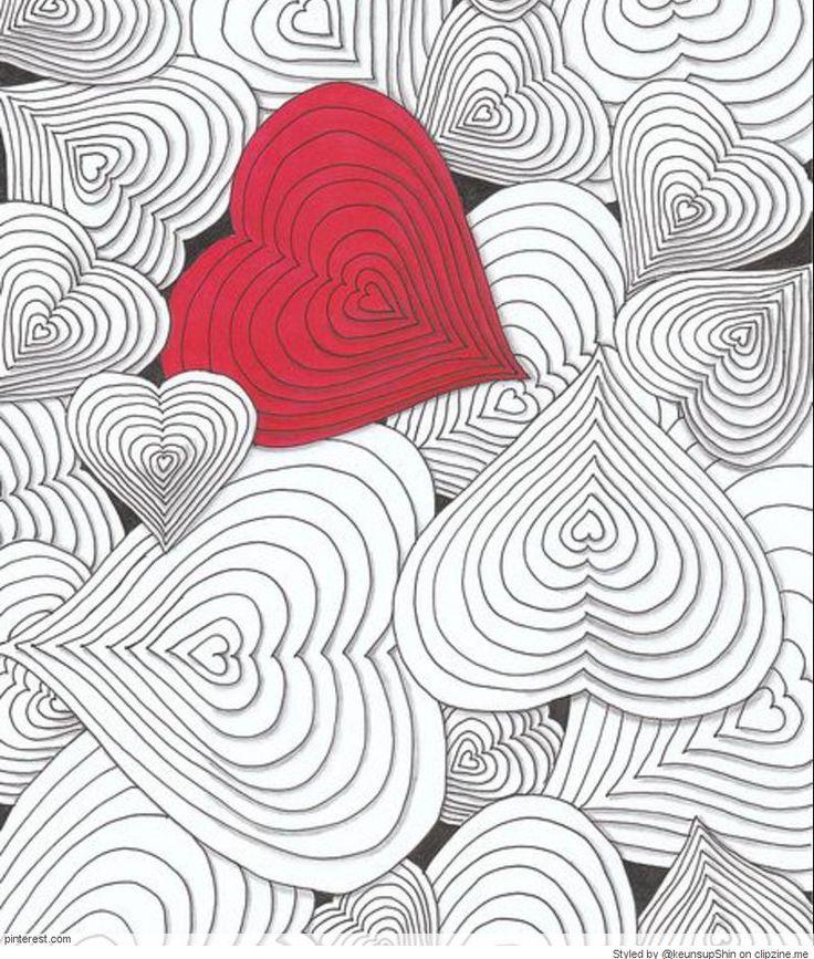 Zentangle Valentine's Day Ideas
