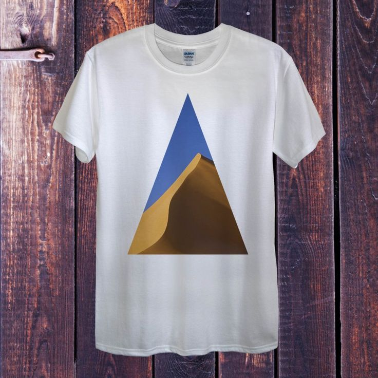 Desert Triangle T-Shirt. Geometric Shaped designs only at Black Barrel. This is just one of hundreds of great deals available at our website! www.blackbarrel.co.uk