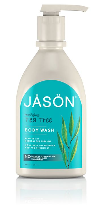 Jason Purifying Tea Tree Body Wash - I love using this in the morning! It's so rejuvenating!