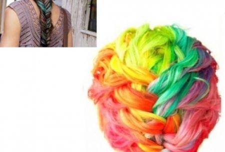 Uitwasbaar haarkrijt in 24 kleuren t.w.v. €30,- nu €12,95!