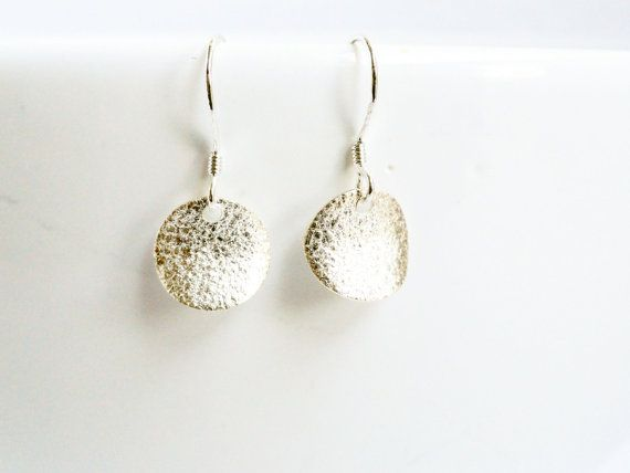 Silver coin earrings  sterling coin earrings  by handmadeintoronto
