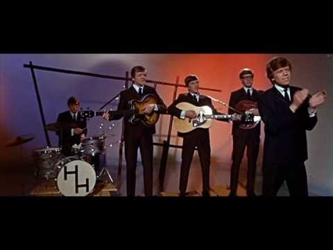 yeah--I think my boys can sing right along too.  Herman's Hermits - I'm Into Something Good (1965)