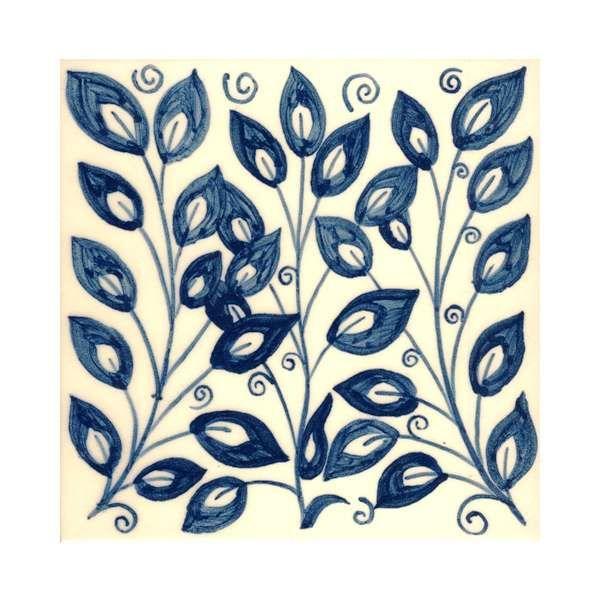 Delft tiles with William Morris designs