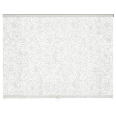 Роллета, рулонная штора IKEA LISELOTT Рулонная штора, белый (802.911.23) | Hotline.ua
