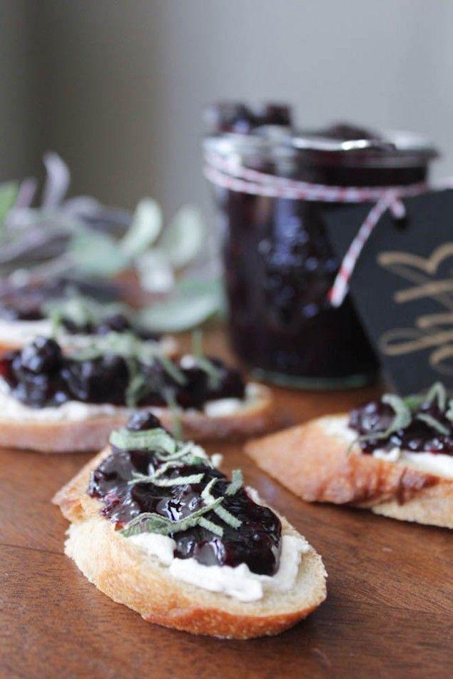 Blueberry and Sage Chutney