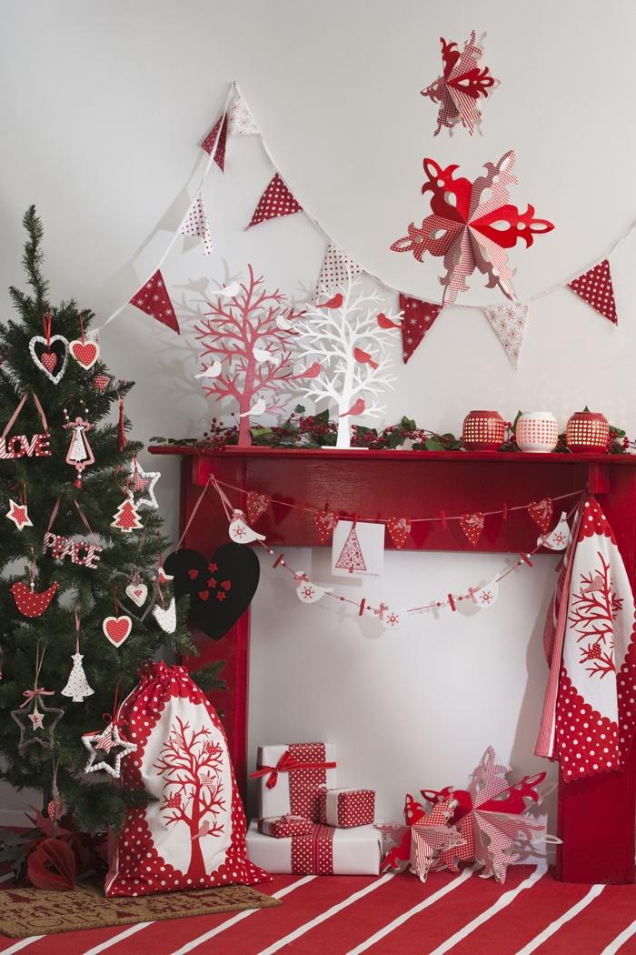 Christmas bunting - Nordic range. www.madraslink.com.au