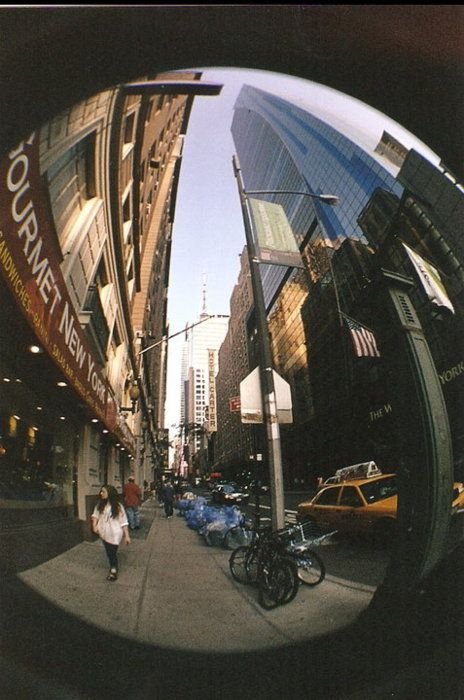 In my opinion its the border you get with fisheye that makes it wonderful
