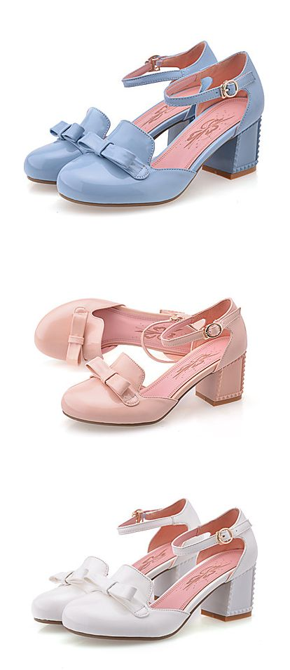 We love them! - All-matching candy colors round toe summer - spring sandals/ shoes! Perfect for work/ night our or any occasion. €30.37
