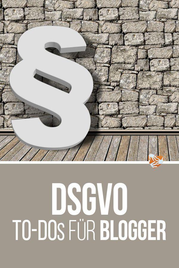 DSGVO für Blogger: Was müssen Blogger beachten? Verarbeitungsverzeichnis, TOM, Datenschutzerklärung, Wordpress-Plugins, Auftragsverarbeitungsvertrag #dsgvo #blogger #recht #datenschutz #datenschutzgrundverordnung #anleitung
