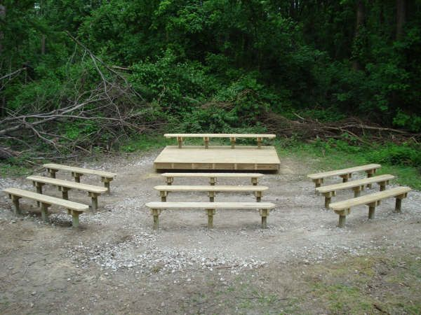 outdoor classroom designs | Outdoor Classroom at Eagle Slough Natural Area