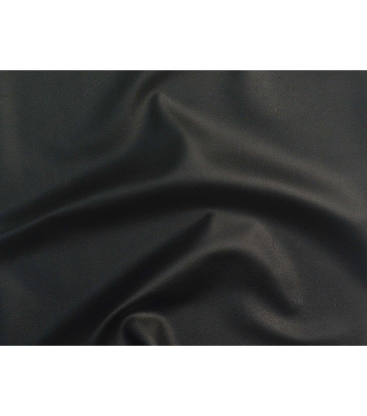 """Cosplay by Yaya Han Low Stretch Pleather Fabric-Black.  Leather look but you'd like a material a little easier to work with, the Black Low Stretch Pleather from the Cosplay Fabrics by Yaya Han collection will fit the bill. with less give than the Stretch Pleather's from the Yaya Han line, Low Stretch Pleather is perfect for any design that requires a more solid foundation. 54""""W"""