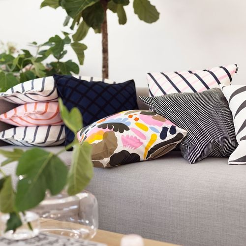 Marimekko Hattarakukka Throw Pillow - Marimekko Throw Pillow Sale
