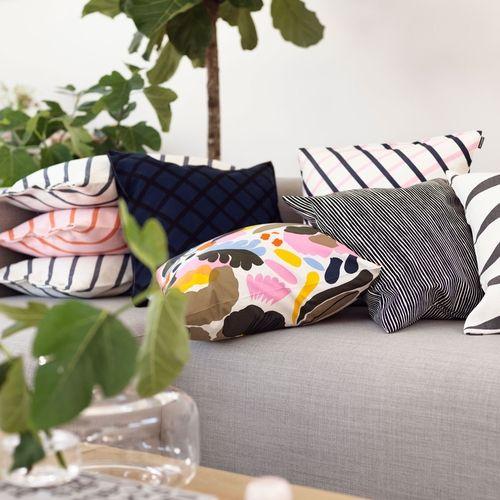 Marimekko Hattarakukka Throw Pillow - Marimekko Throw Pillow Sale