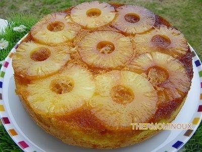 Recette du quebec gateau renverse aux ananas