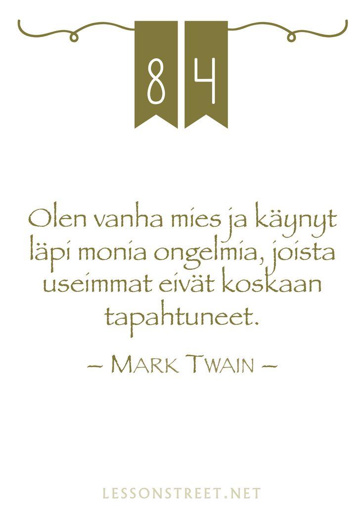 #84 Mark Twain