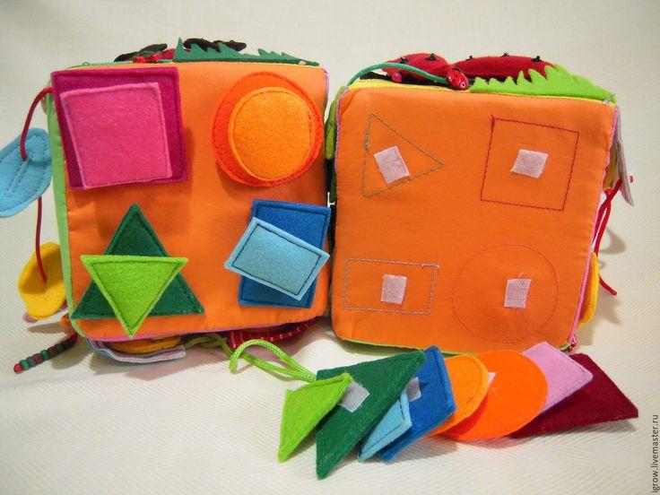 """Купить развивающий кубик """" Уточка """" - развивающие игрушки, развивающий кубик"""