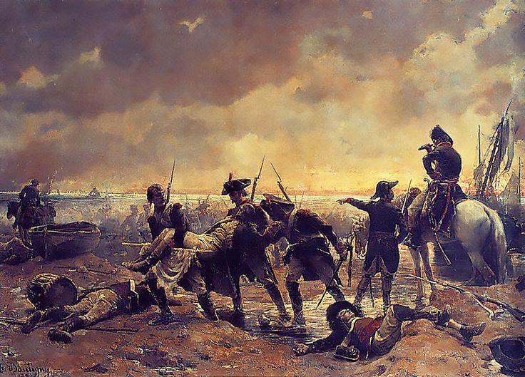 Le débarquement des émigrés à Quiberon commença le 23 juin 1795 et fut définitivement repoussé le 21 juillet 1795. Organisé afin de prêter main-forte à la Chouannerie et à l'armée catholique et royale en Vendée, il espérait soulever tout l'Ouest de la France afin de mettre fin à la Révolution française et de permettre le retour de la monarchie. Cette opération militaire de contre-révolution eut un grand retentissement, et porta un coup funeste au parti royaliste.