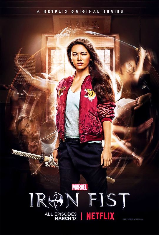 New Iron Fist character poster featuring Jessica Henwick as Colleen Wing