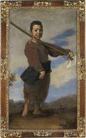 Jusepe de RIBERA (Játiva, 1591 - Naples, 1652)  Le Pied-bot  1642  H. : 1,64 m. ; L. : 0,94 m.  Legs Louis La Caze, 1869 , 1869  M.I. 893