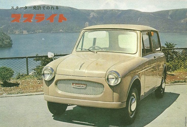 Suzulight TL The second Suzuki car used a 360cc Lloyd engine and the chassis design was identical.