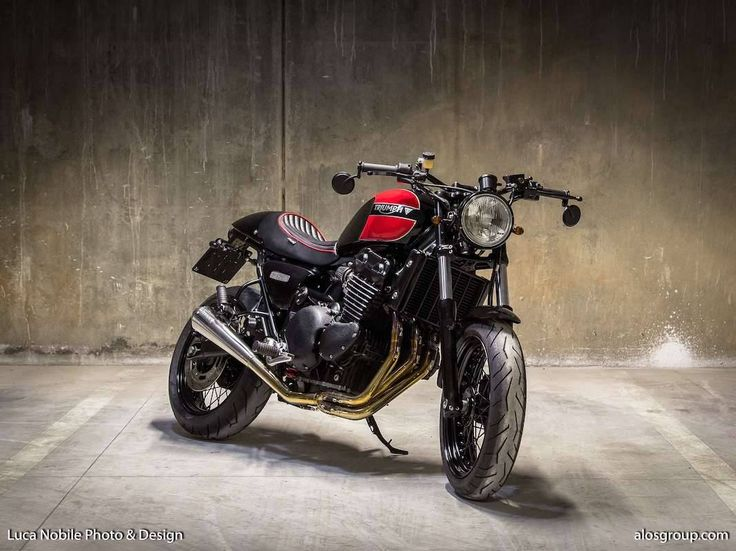 Cafe Racer Pasión — Triumph Thunderbird Cafe Racer by Alo's Group -...