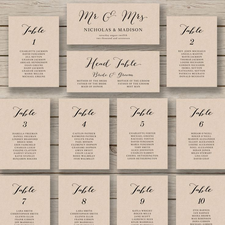 Excel Wedding Seating Chart Template Free Floor Plan Table ...