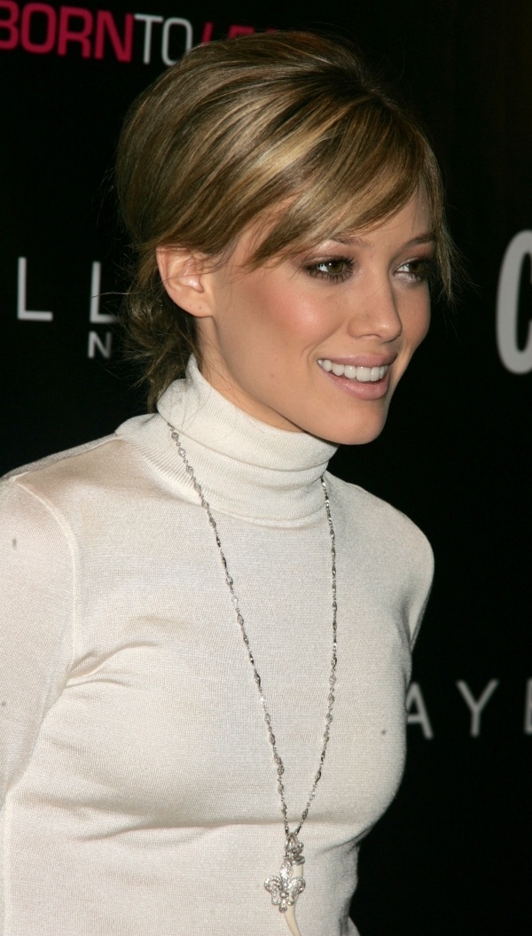 Hilary Duff rocks the light bang highlights.  Get inspired by the creator of Sex and The City in the new series 'Younger.' Catch a sneak peek at http://www.tvland.com/shows/younger.