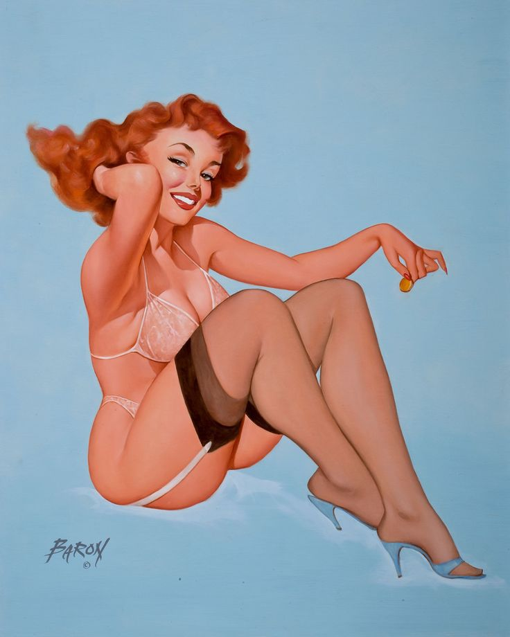 Pin Up And Glamour Art BARON GERALD JERRY VON LIND