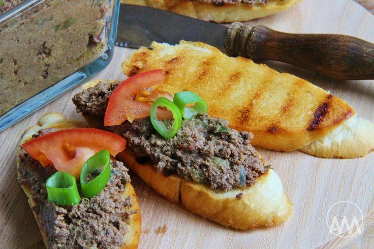 V kuchyni vždy otevřeno ...: Toskánská játrová paštika