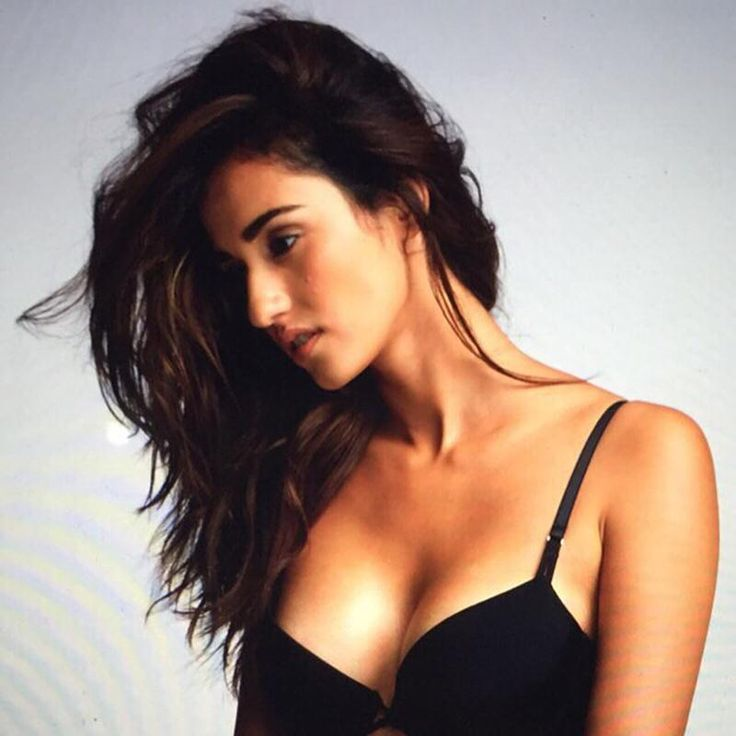 Disha Patani in black bra . Very very raunchy and amazingly sexy.