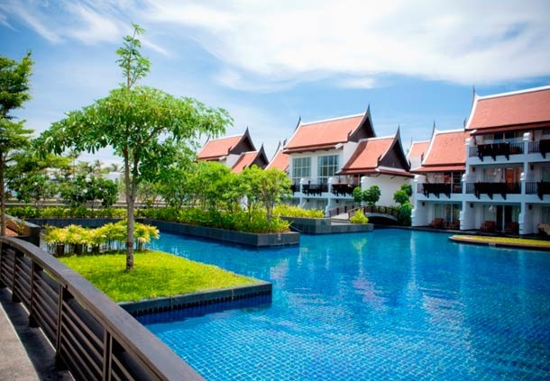 One of the most popular family resorts in Khao Lak. JW Marriott Khao Lak Resort & Spa, Thailand www.islandescapes.com.au