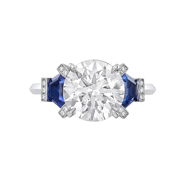 Raymond C. Yard 3.01 Carat Round Brilliant Diamond Engagement Ring
