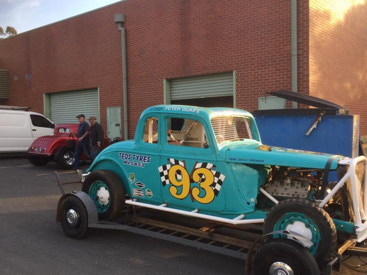 Pin by Kevin on Racing in Ontario Vintage race car, Old