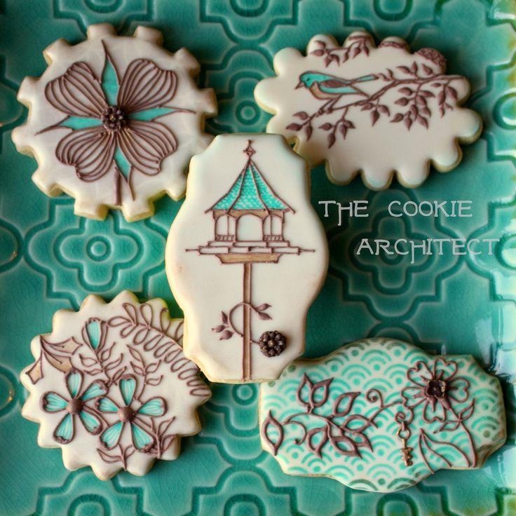Secret Garden by Johanna Basford- Cookie Interpretation | The Cookie Architect