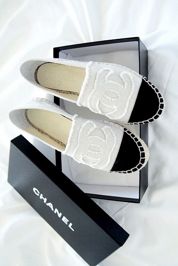 Chanel's espadrilles for comfy style of walking