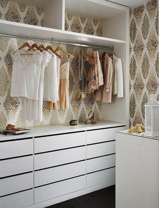 wallpapered closets on bloglovin