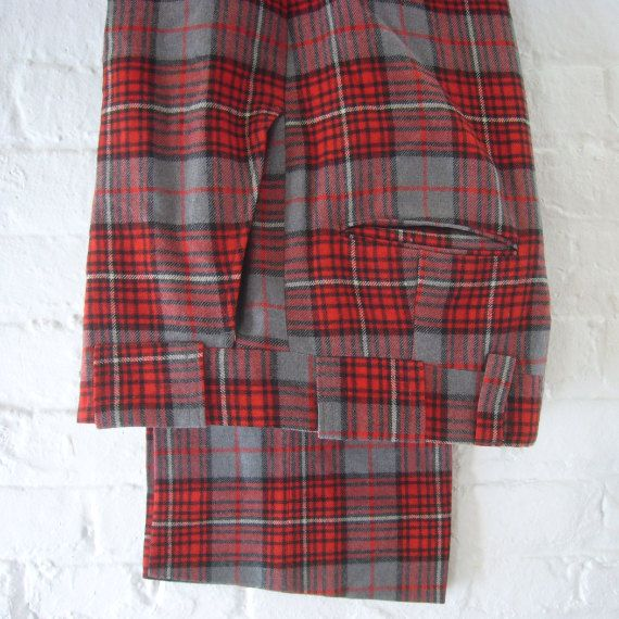 how to say plaid pants in french