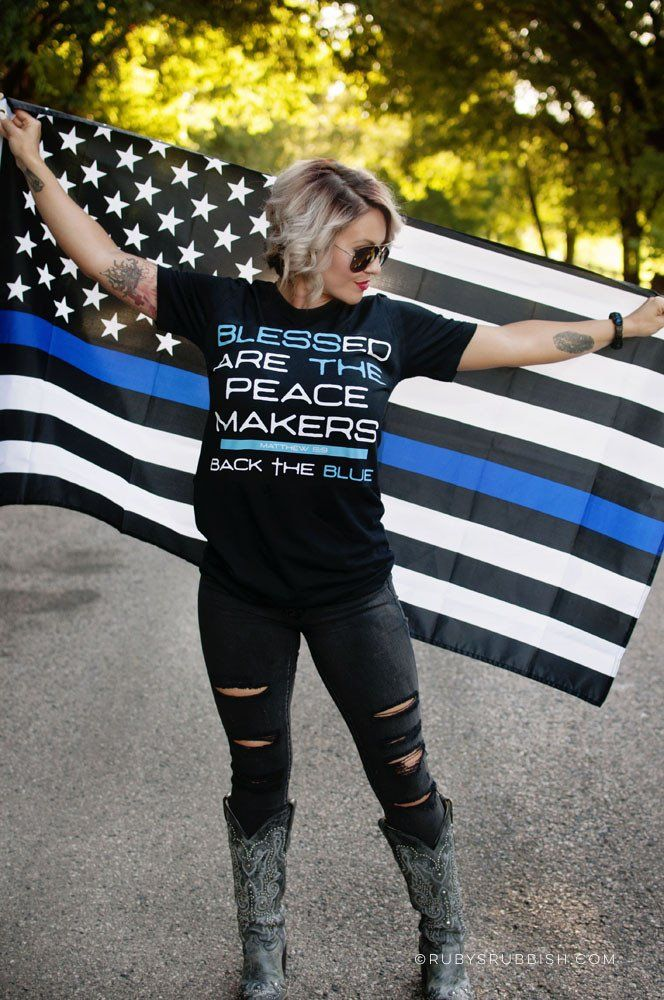 With everything Police Officers do for us, we can at least Bless the Blue. Don't…